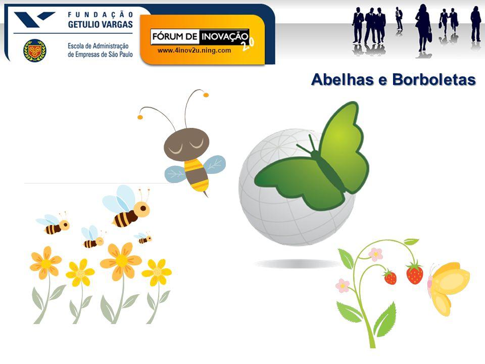 www.4inov2u.ning.com Abelhas e Borboletas