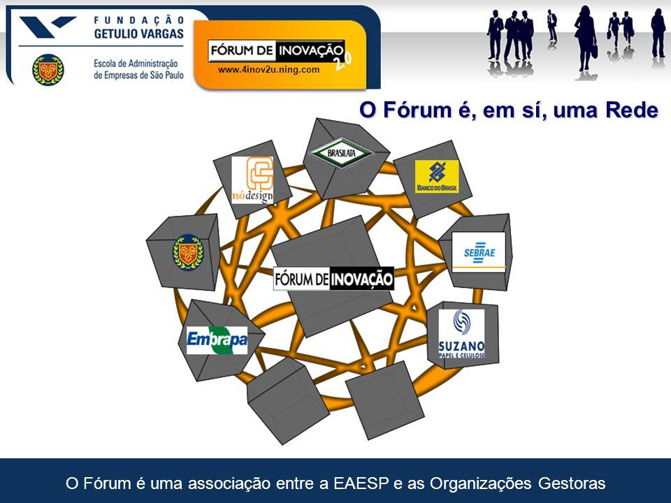 www.4inov2u.ning.com 4inov2u: Visão de Futuro Cada Organização Gestora Cada Rede de Conhecimento (1) http://batepapoecommerce.ving.com  (2) www.interney.net  (3) (4) http://pontomidia.com.br