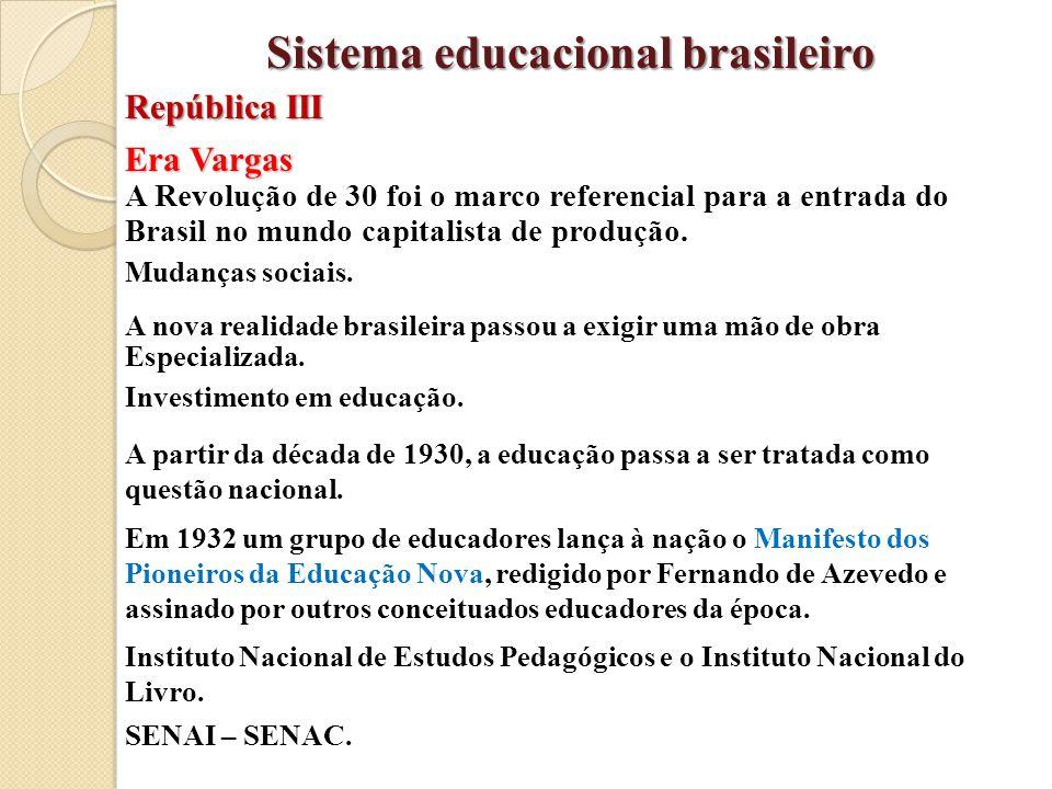 Era Vargas A Revolução de 30 foi o marco referencial para a entrada do Brasil no mundo capitalista de produção. Mudanças sociais. A nova realidade bra
