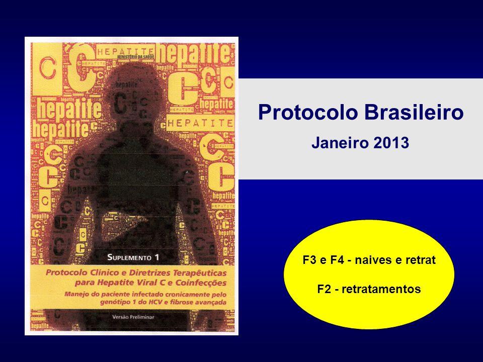 Protocolo Brasileiro Janeiro 2013 F3 e F4 - naives e retrat F2 - retratamentos
