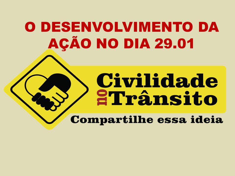 O DESENVOLVIMENTO DA AÇÃO NO DIA 29.01