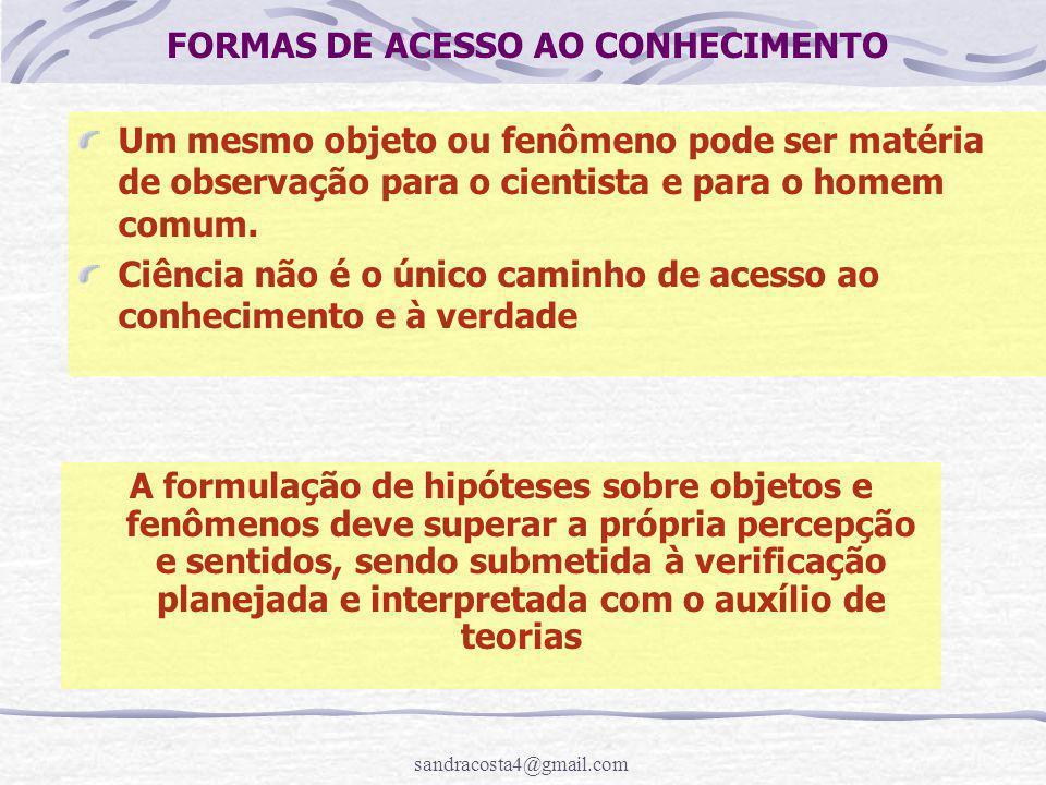 sandracosta4@gmail.com Metodologia da Pesquisa Científica ELABORANDO UM PROJETO DE PESQUISA Curso de Especialização em Contabilidade Pública Profa.