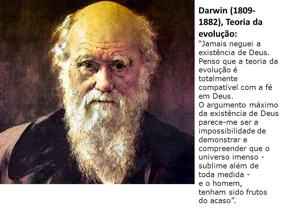 """Secchi (1803- 1895), célebre astrónomo: """"Da contemplação do céu a Deus, há um trecho curto""""."""