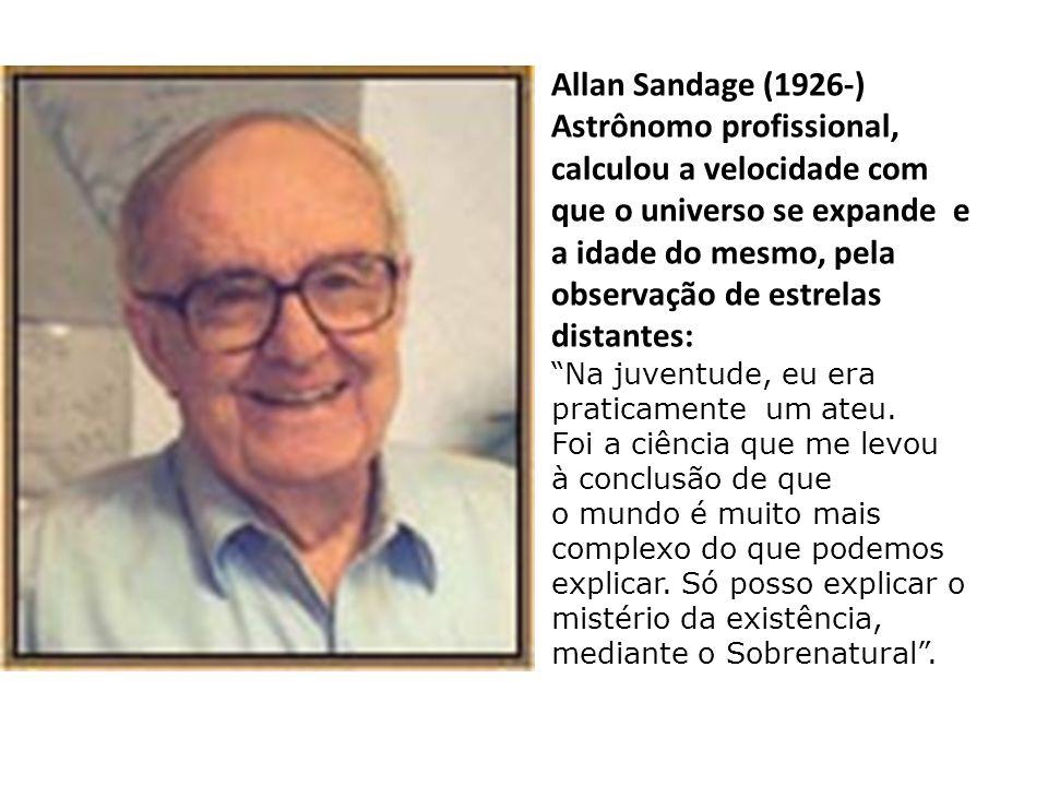 """Charles Townes (Partilhou o Prémio Nobel da Física 1964 por descobrir os princípios do laser): """"Como religioso, sinto a presença e a intervenção de um"""