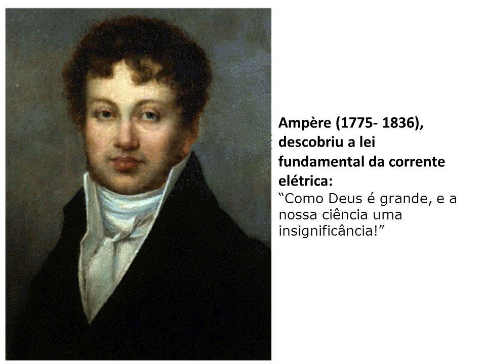 """Volta (1745- 1827), descobriu as noções básicas da electricidade: """"Eu confesso a fé santa, apostólica, católica e romana. Dou graças a Deus que me con"""