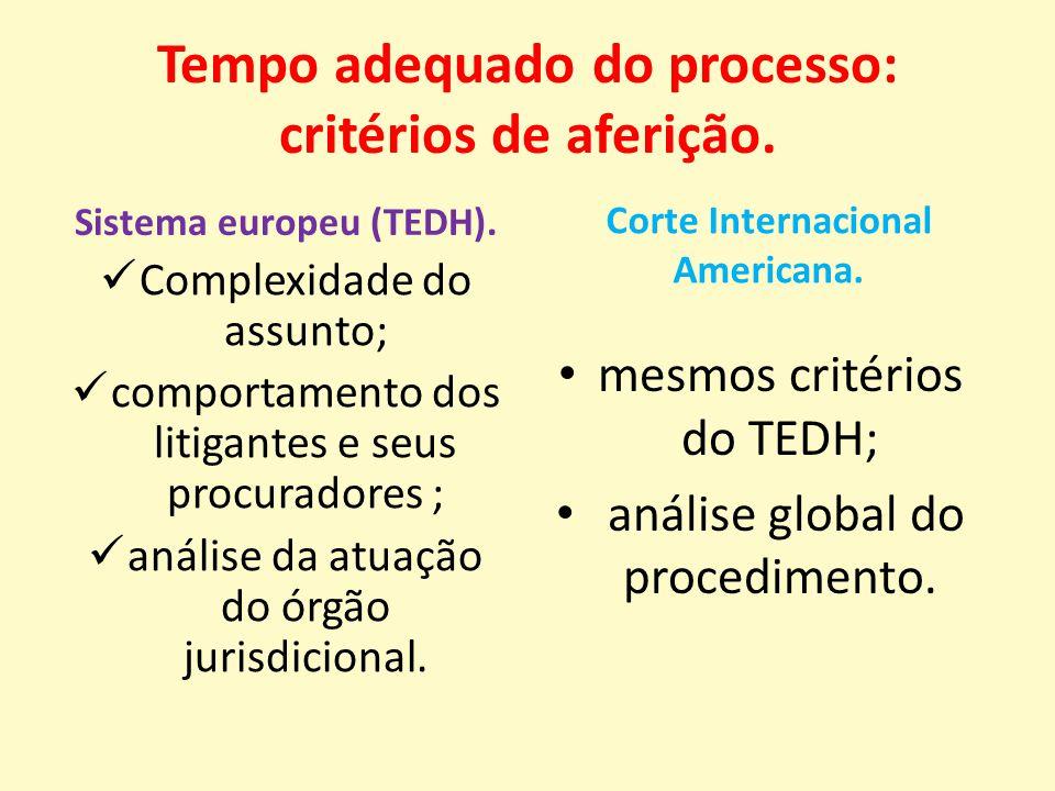 Tempo adequado do processo: critérios de aferição.