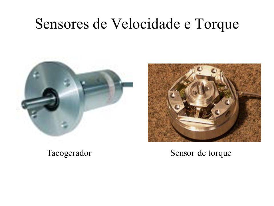 TacogeradorSensor de torque Sensores de Velocidade e Torque
