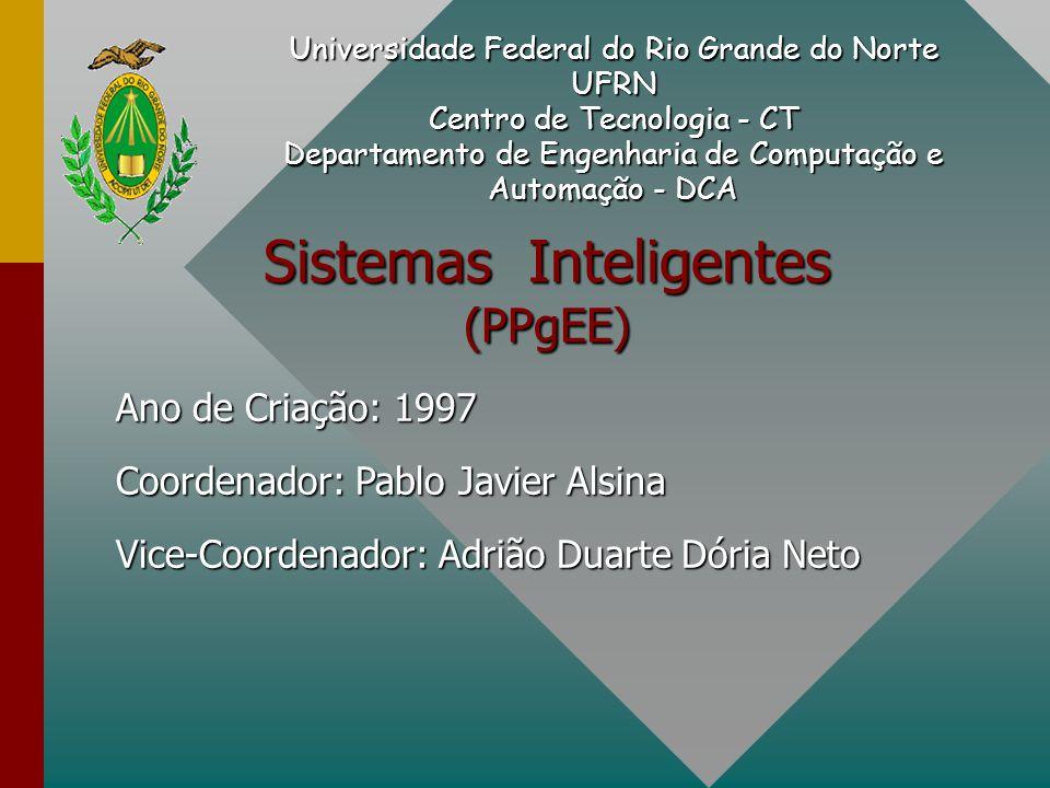 Sistemas Inteligentes (PPgEE) Universidade Federal do Rio Grande do Norte UFRN Centro de Tecnologia - CT Departamento de Engenharia de Computação e Au