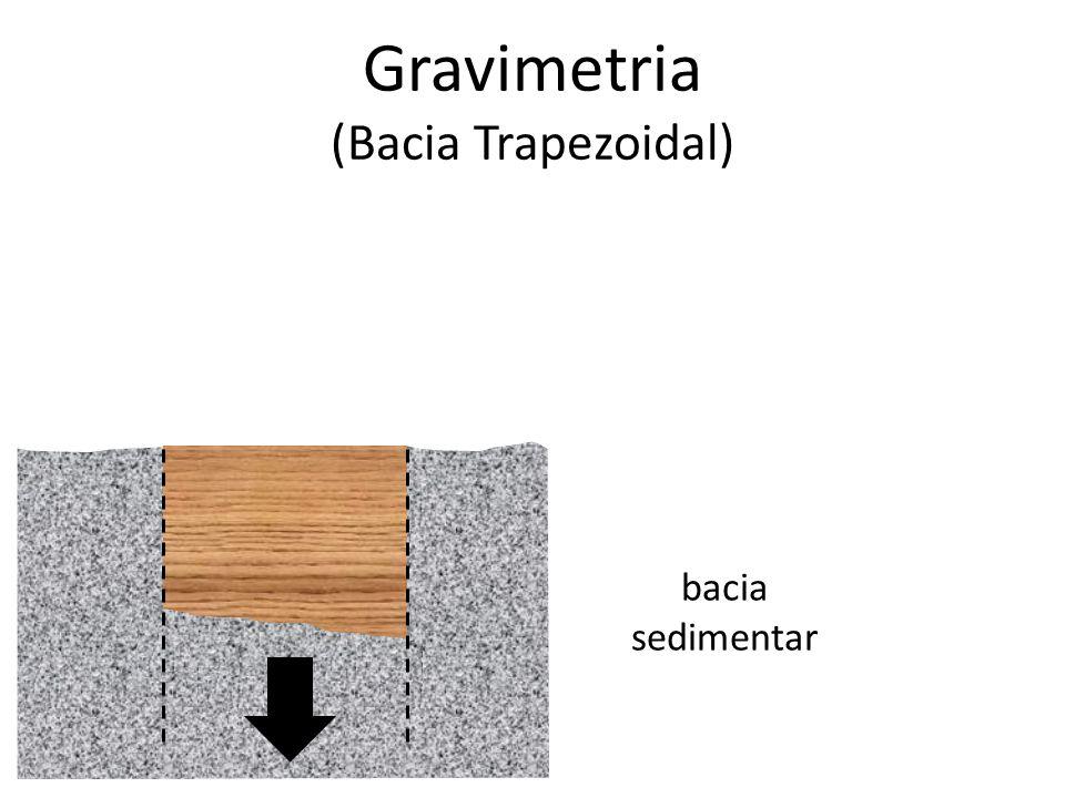 Gravimetria (Bacia Trapezoidal) bacia sedimentar