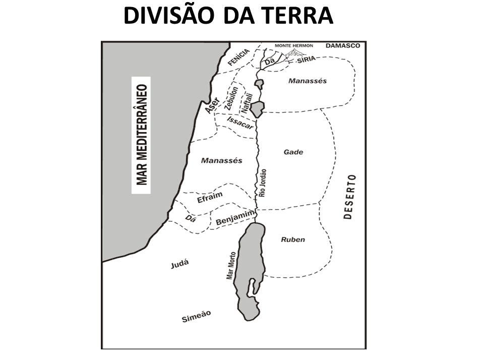DIVISÃO DA TERRA