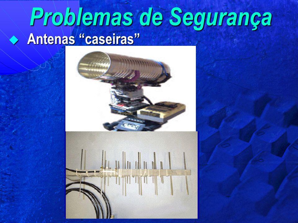 """Problemas de Segurança  Antenas """"caseiras"""""""