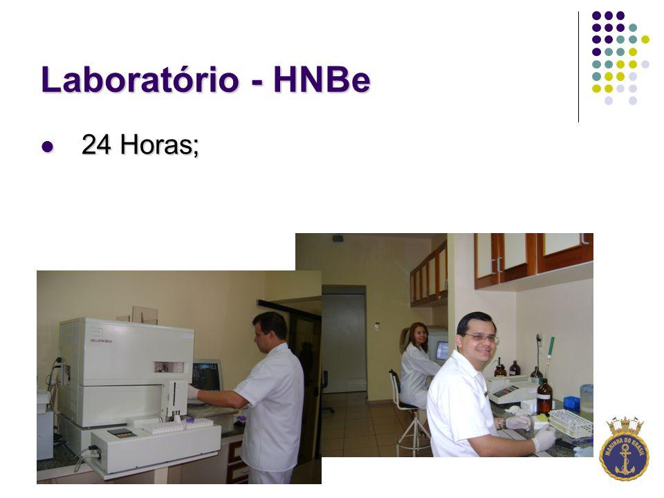 Laboratório - HNBe 24 Horas; 24 Horas;