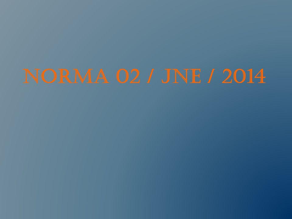 NORMA 02 / JNE / 2014