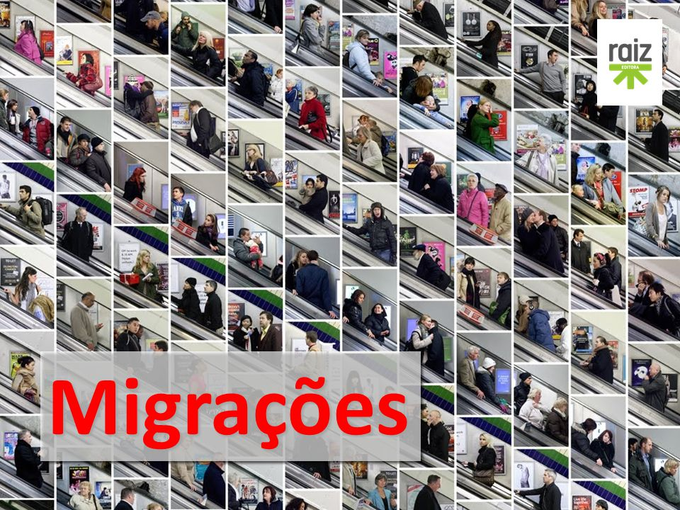 Geografia - 8.º ano Tipos de migrações internas DERIVA URBANA Movimentos de pessoas pela cidade durante um certo período de tempo deixando-se guiar pelas atrações do terreno.