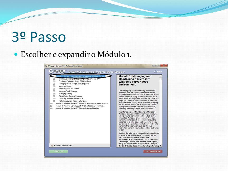 4º Passo Escolher e expandir 'Performing System Recovery Functions'