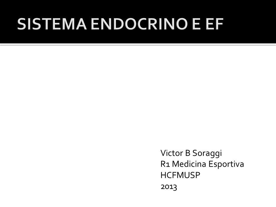 Victor B Soraggi R1 Medicina Esportiva HCFMUSP 2013