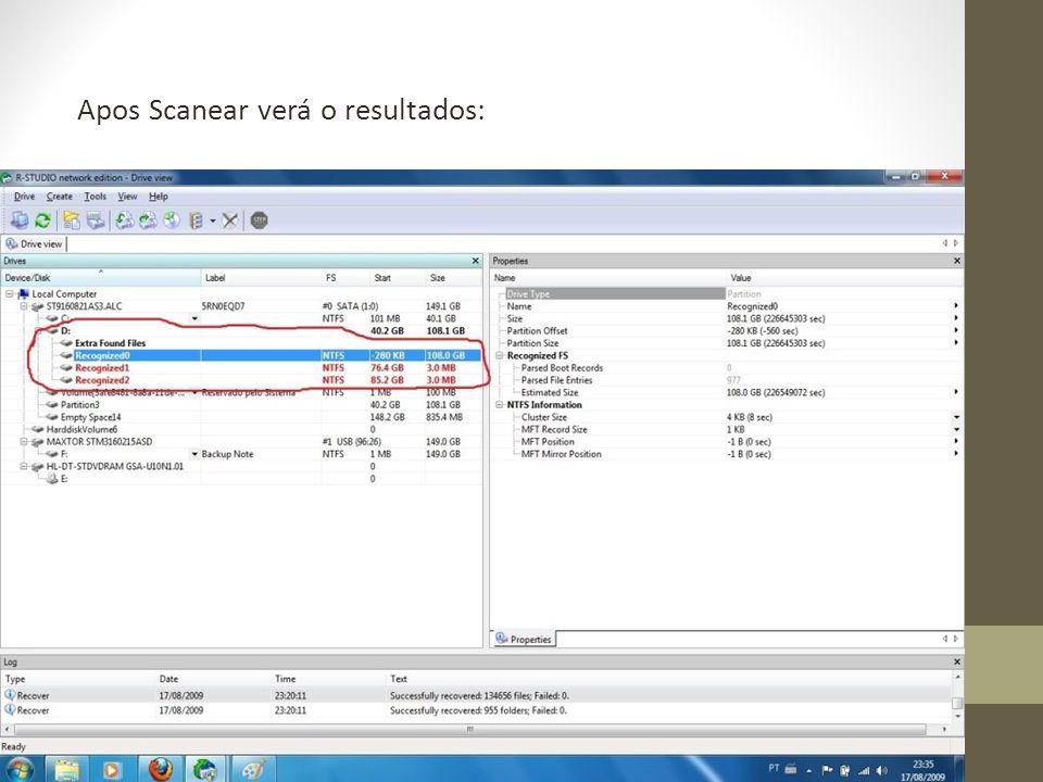 Clique em um dos resultados em destaque com o botão direito do mouse e escolha Open Driver Files :