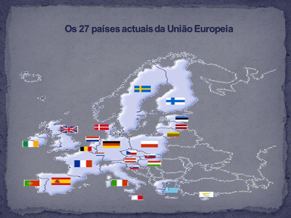 Com este trabalho tentei de forma resumida explicar como se chegou hoje à União Europeia.