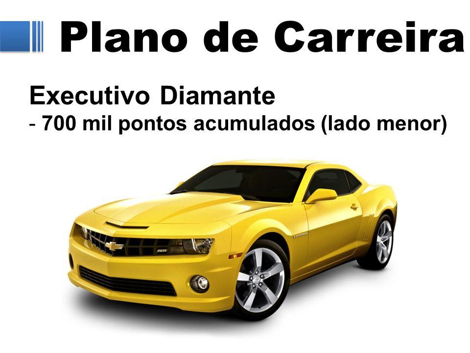 Plano de Carreira Executivo Diamante - 700 mil pontos acumulados (lado menor)