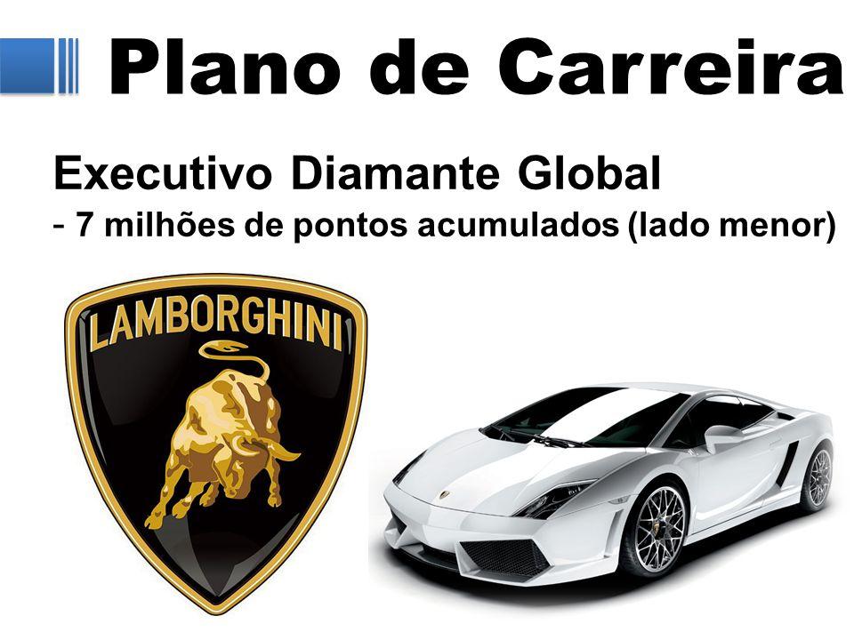 Plano de Carreira Executivo Diamante Global - 7 milhões de pontos acumulados (lado menor)