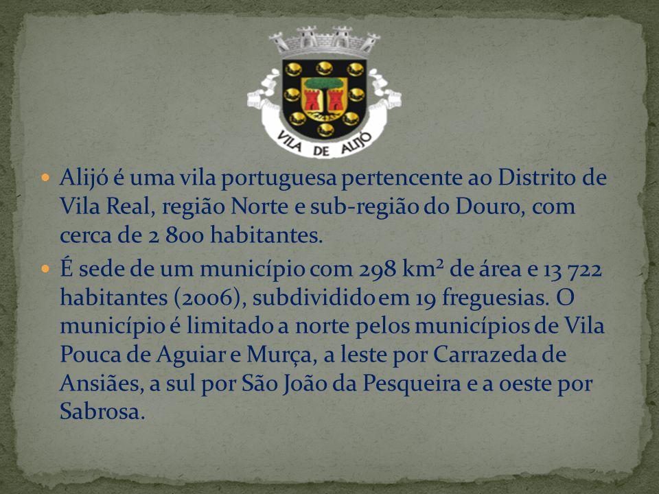 Alijó é uma vila portuguesa pertencente ao Distrito de Vila Real, região Norte e sub-região do Douro, com cerca de 2 800 habitantes. É sede de um muni