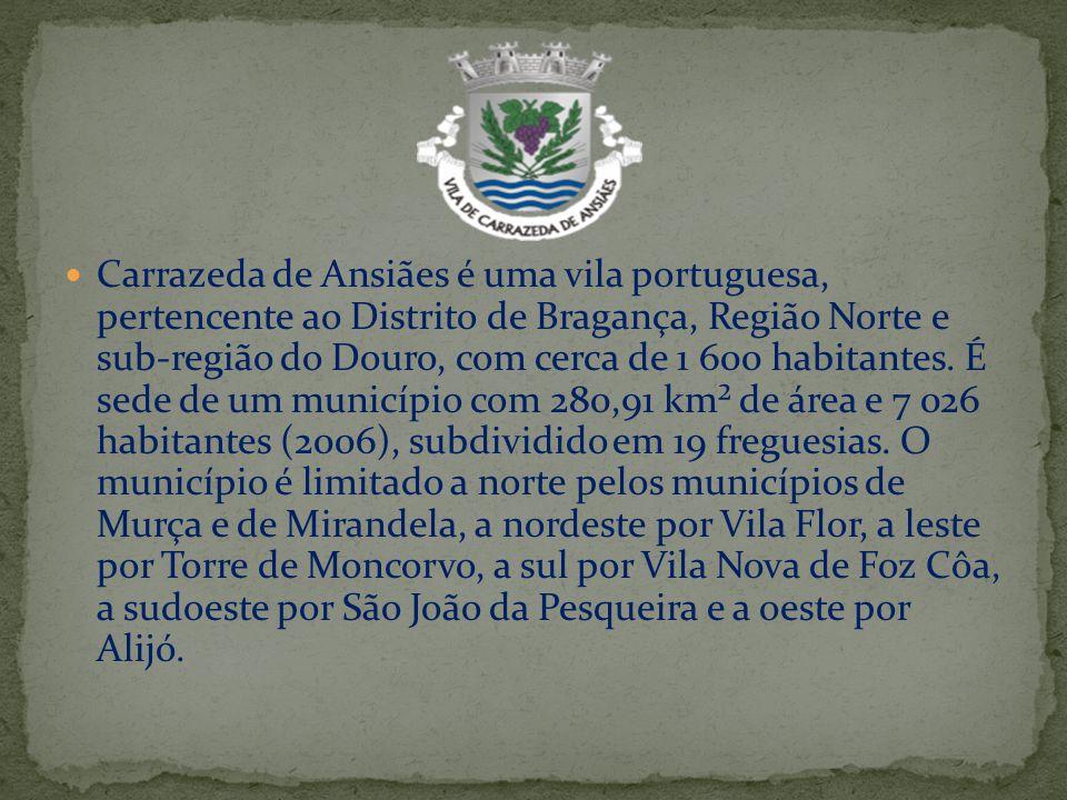Carrazeda de Ansiães é uma vila portuguesa, pertencente ao Distrito de Bragança, Região Norte e sub-região do Douro, com cerca de 1 600 habitantes. É
