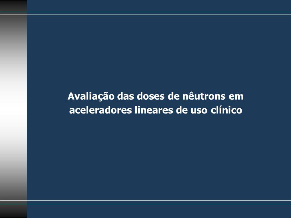 Avaliação das doses de nêutrons em aceleradores lineares de uso clínico