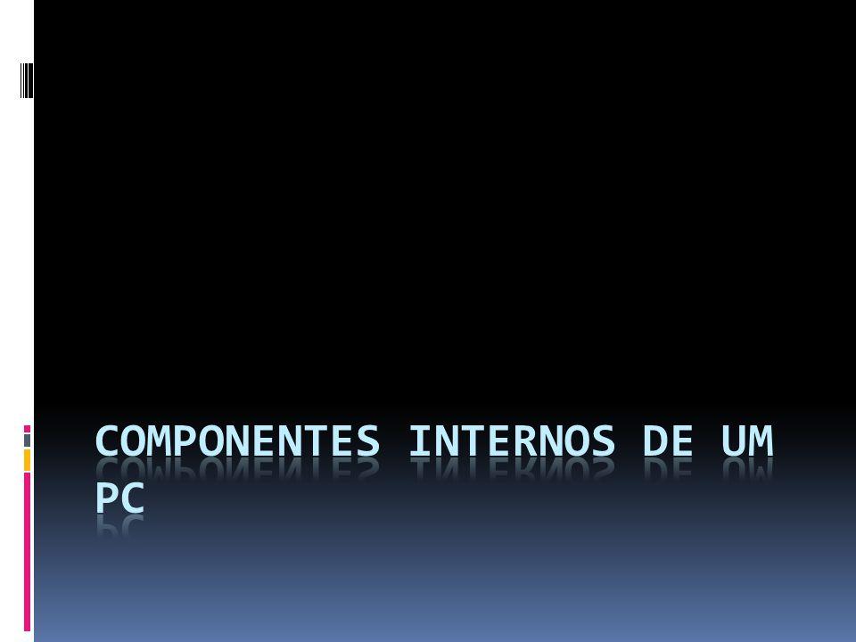 Componentes Internos de um PC  Disco rígido Voltar