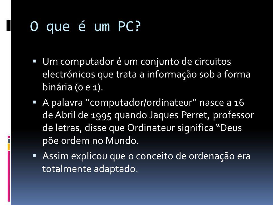 O que é um PC.