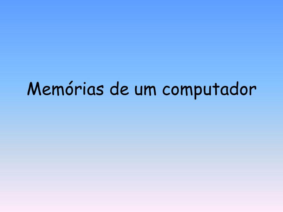Memórias de um computador