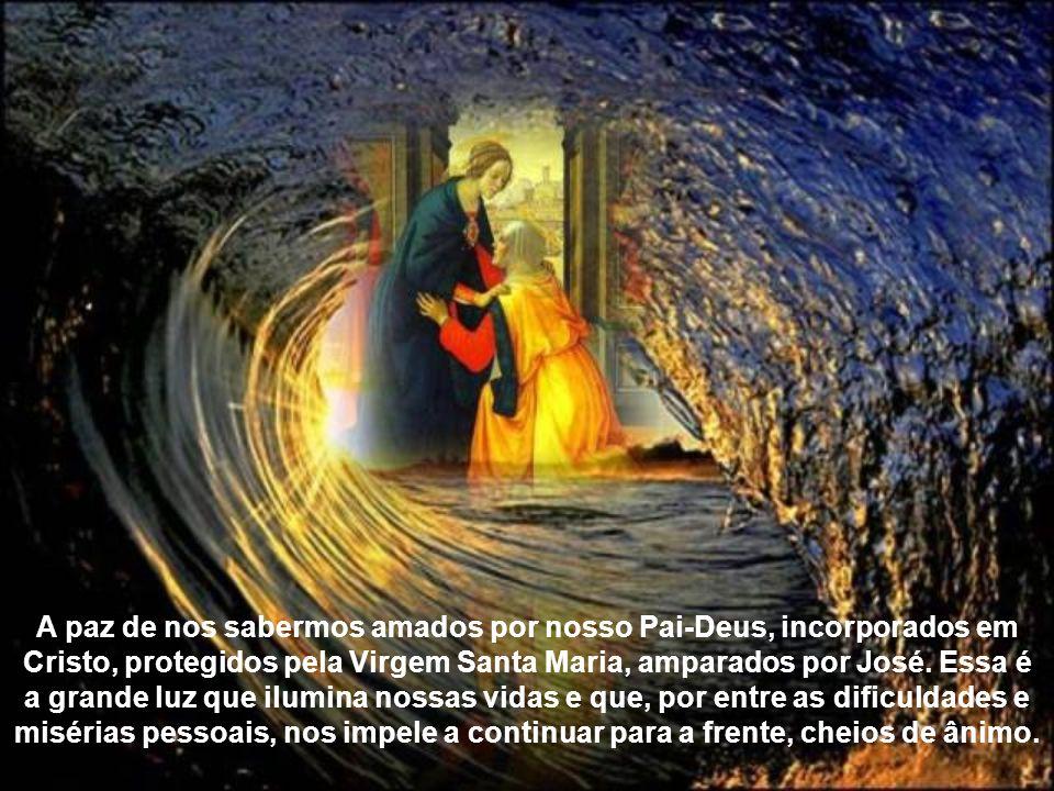 A visita de Maria à Isabel nos mostra uma outra prerrogativa da Mãe do Salvador. Ela, que já levava Cristo em seu puríssimo ventre, trouxe a o Precurs