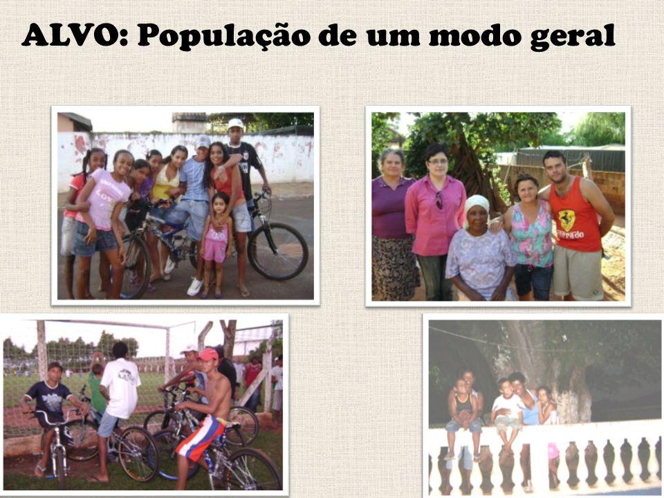 ALVO: População de um modo geral