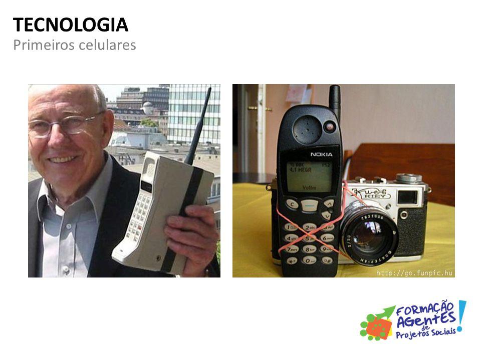 Primeiros celulares TECNOLOGIA