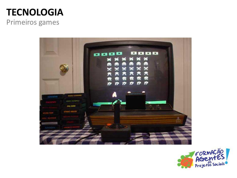 Primeiros games TECNOLOGIA