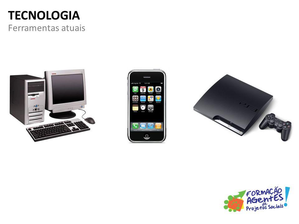 Ferramentas atuais TECNOLOGIA
