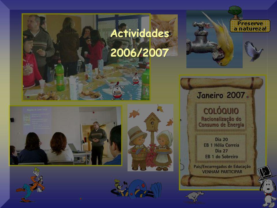 """Colóquio: """"Racionalização de Energia"""" Escola E.B. 1 da Hélia Correia 20 de Janeiro de 2007 Orador: Eng.º Luís Mesquita"""