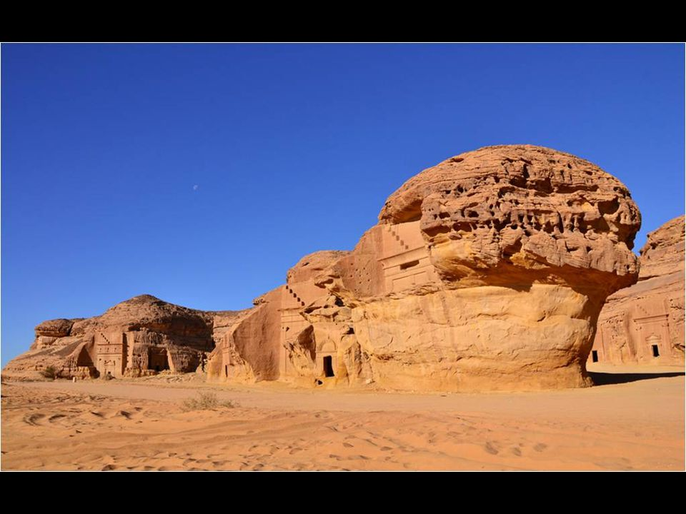 Mada'in Saleh é o nome de restos arqueológicos na Arabia Saudíta.