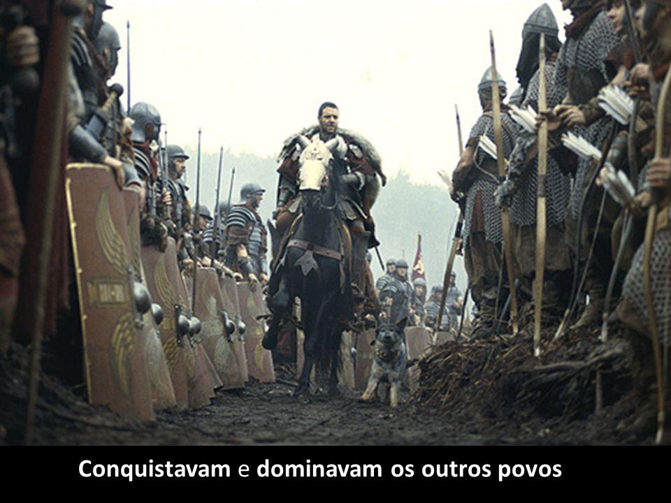 O Latim, vai ser a língua que vai unir todas as zonas do Império