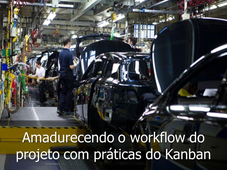 Amadurecendo o workflow do projeto com práticas do Kanban