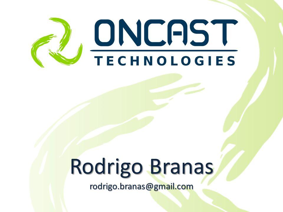 São Paulo, 1 a 3 de Setembro de 2010 Mais informações: contato@oncast.com.br