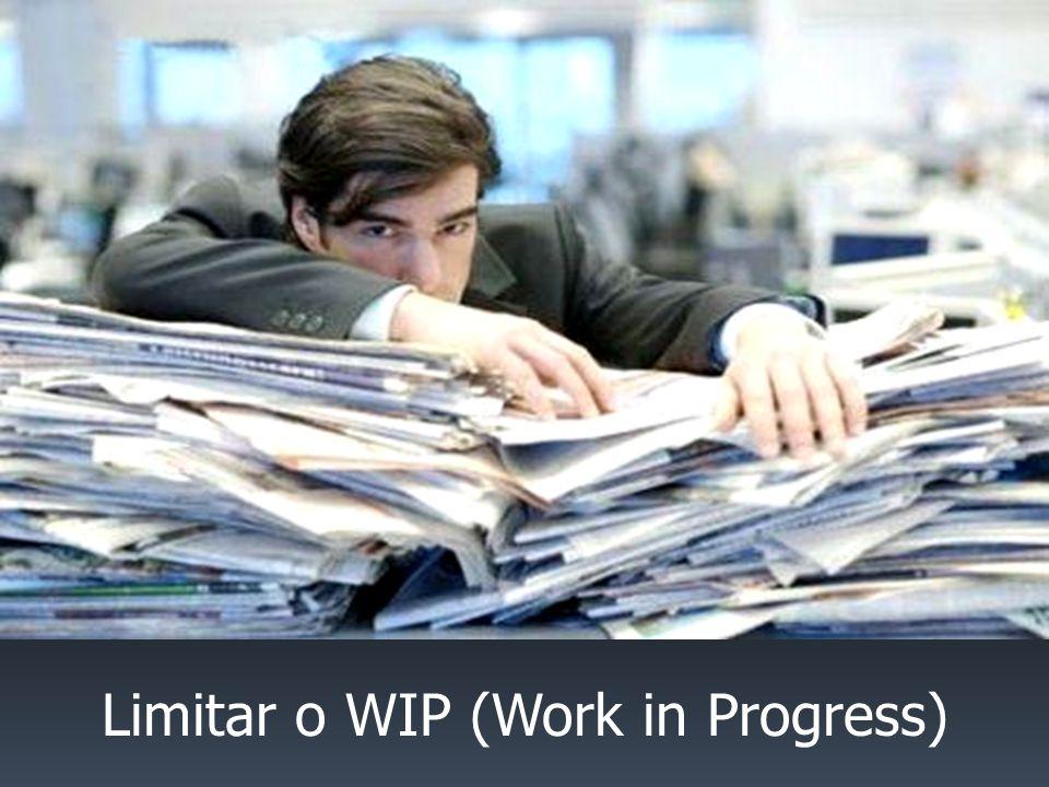 Limitar o WIP (Work in Progress)