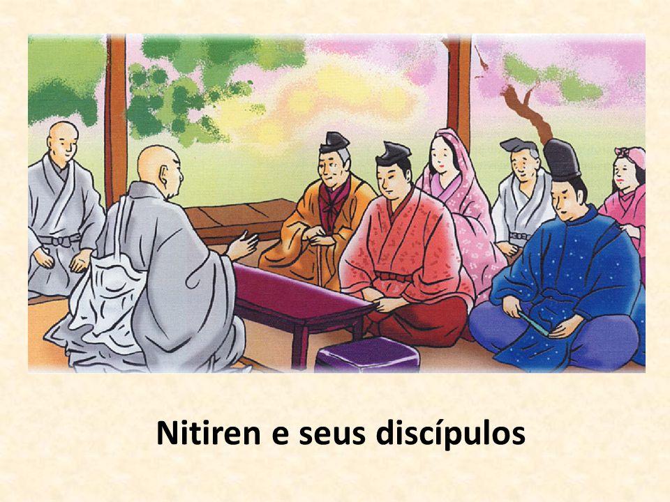 Nitiren e seus discípulos