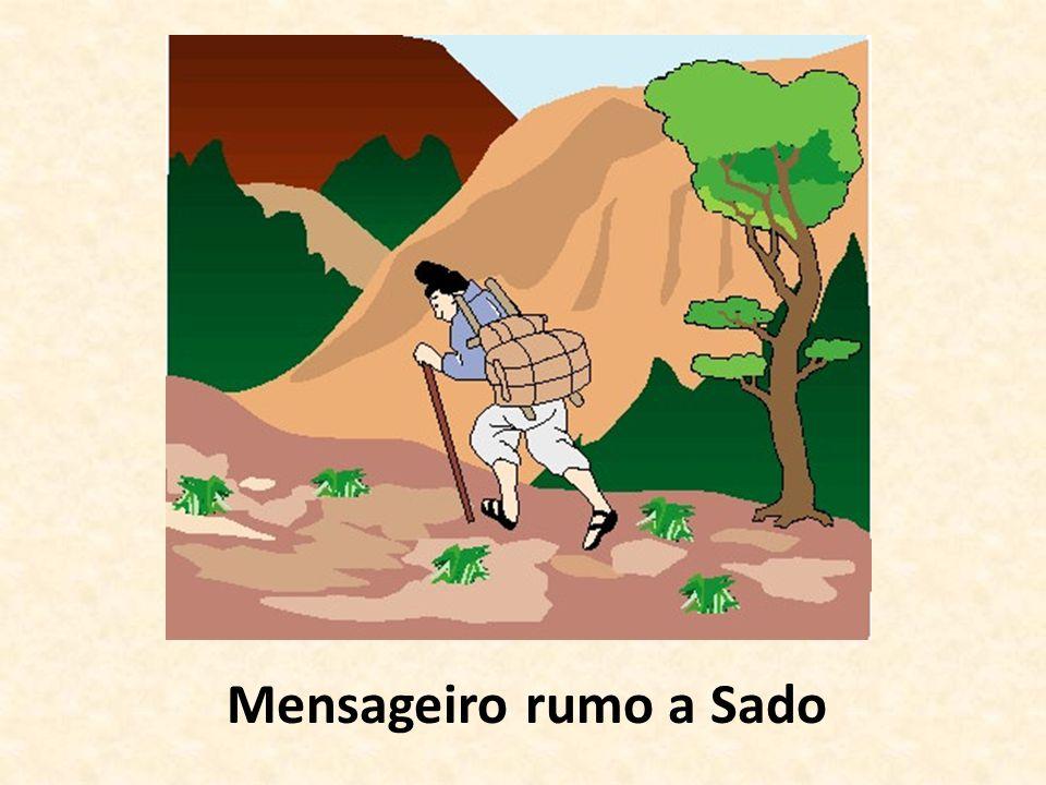 Mensageiro rumo a Sado