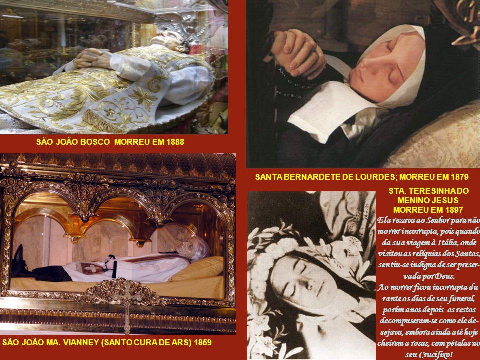 """Canais de TV como o """"The History Channel """"e o """"Discovery Channel"""" transmitiram dissecações que foram feitas nos Santos, nas quais se extirparam órgãos"""