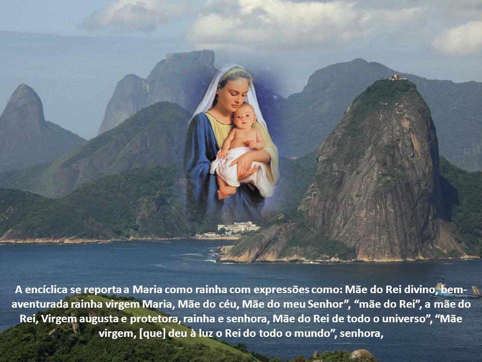 Não podemos negar que Maria é chamada de Rainha em toda a Tradição da Igreja. No tempo Pascal rezamos o Regina Coeli. No final do Rosário rezamos a Sa