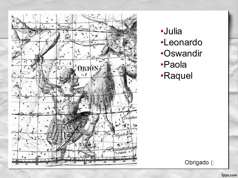 Julia Leonardo Oswandir Paola Raquel Obrigado (:
