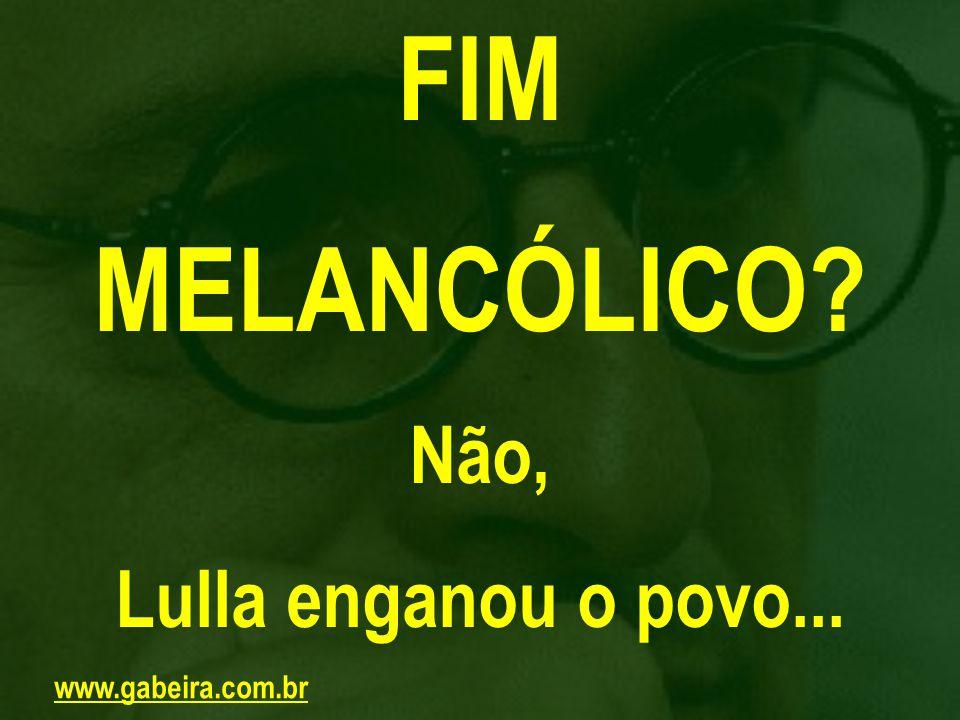 Texto veiculado no jornal Folha de S.Paulo, disponível na página http://www.gabeira.com.br.