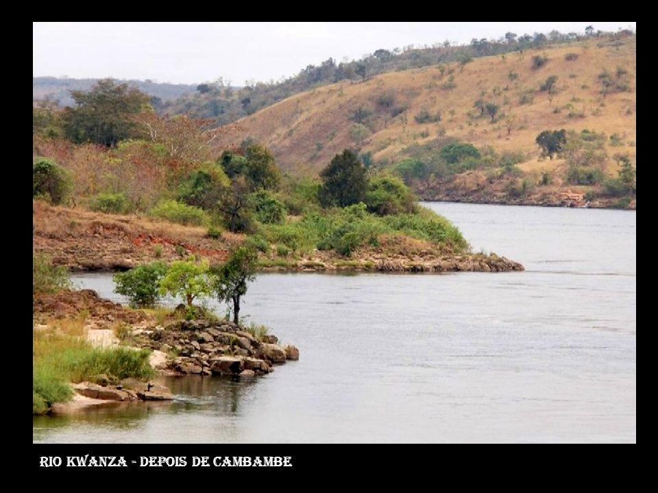 Rio Kwanza - depois de cambambe