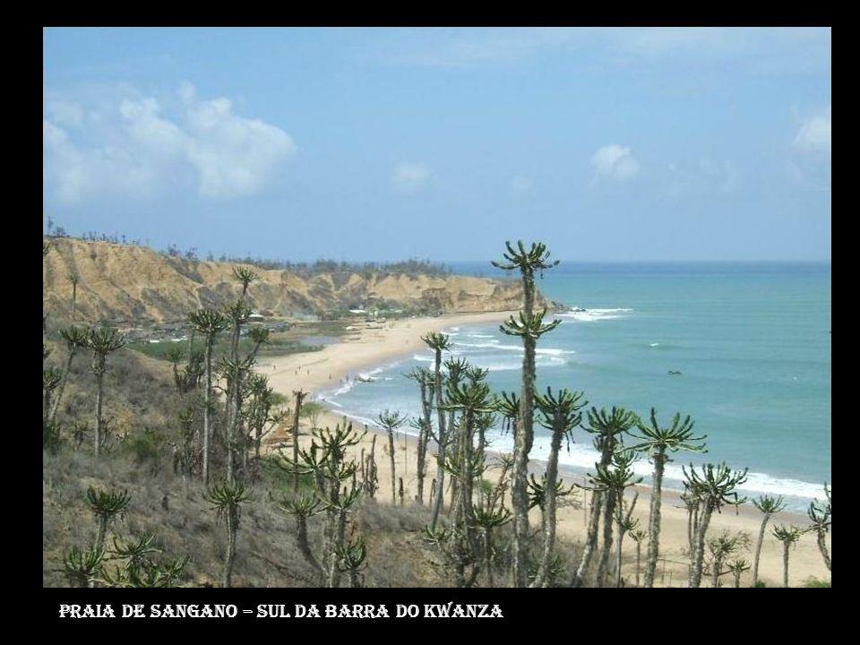 Praia de Sangano – sul da barra do kwanza