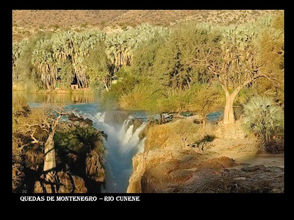 Quedas de montenegro – rio cunene
